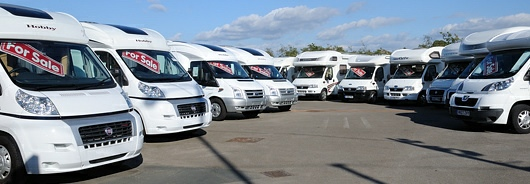 Motorhomes at Dick Lane Motorhomes