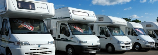 Motorhomes at Dick Lane